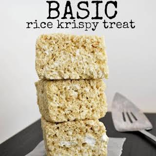 Basic Rice Krispy Treats.