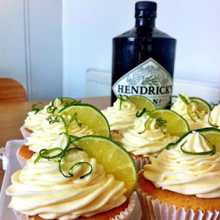 Gin and Tonic Cupcakes.