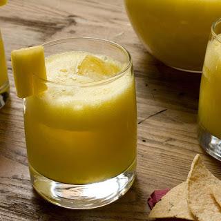 Spiked Pineapple Agua Fresca.