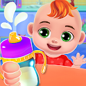 Baby Care And Dress Up: Babysitter Games icon