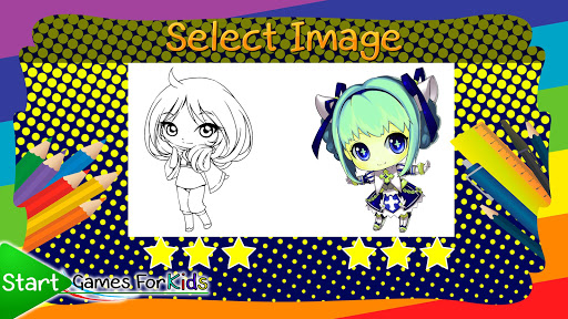 Anime and Manga Coloring Book  screenshots 3