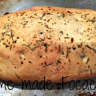 Home-made Focaccia