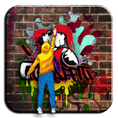 Street Graffiti Wall Theme