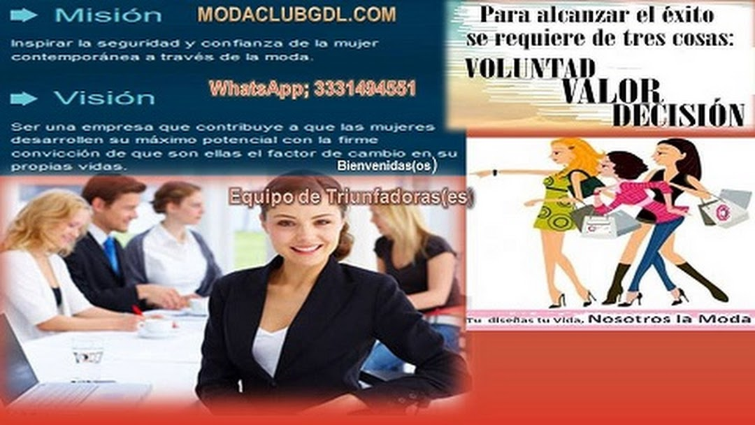 bfe96bf5ed783 Centro de Informacion Venta de Ropa por Catálogo ModaClub - Centro ...