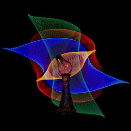 by Jean-Marc Landry - Artistic Objects Glass ( glass, light bulb, light art )
