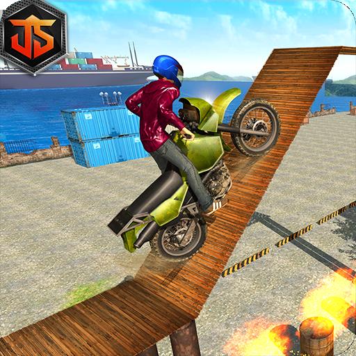 Tricky Bike Stunt Crazy Master: Motorbike Stunt 3D