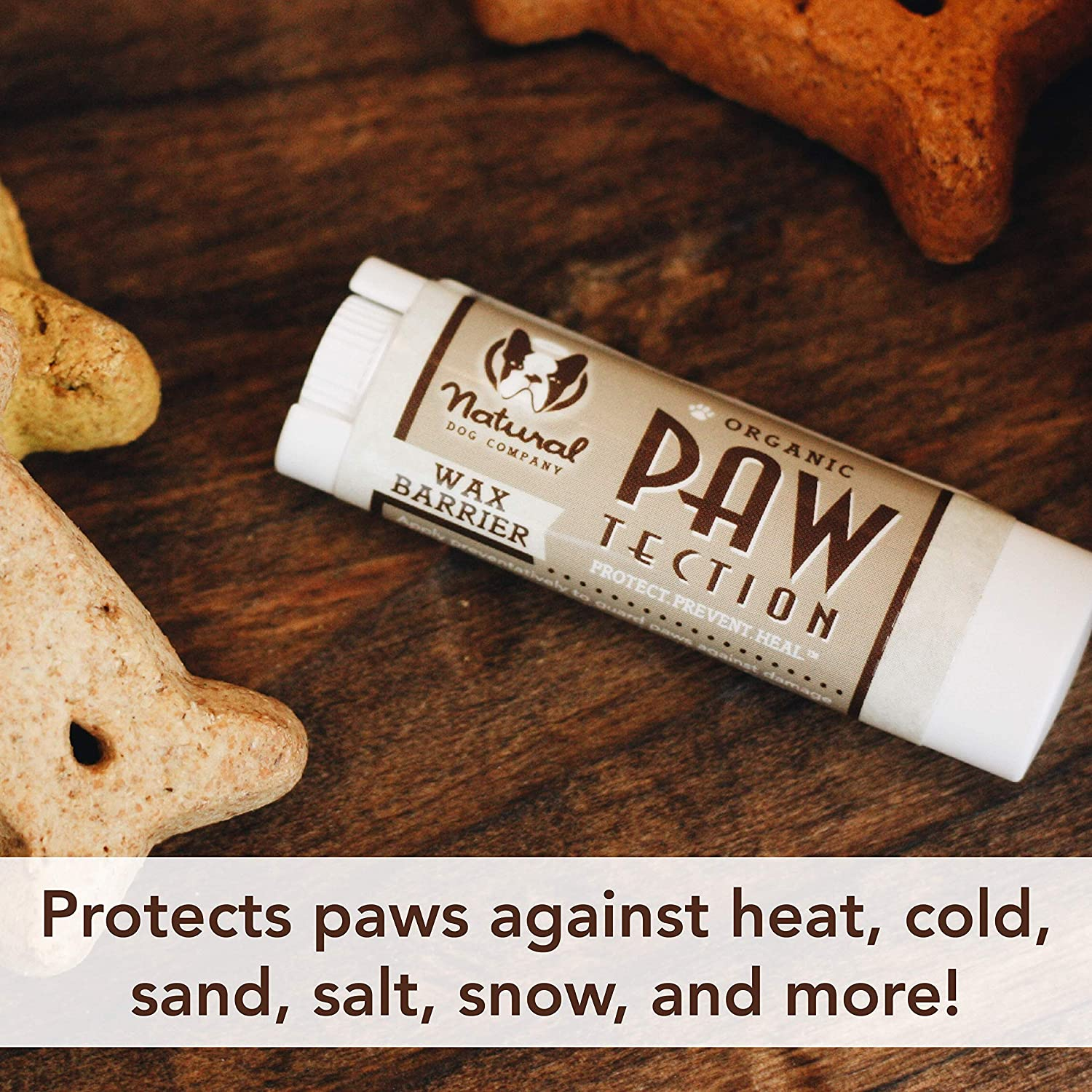 Paw balm on table | Products for winter dogs