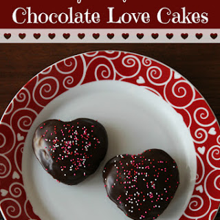 "Chocolate ""Love"" Cakes {Gluten-free}"