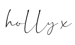 Holly's signature