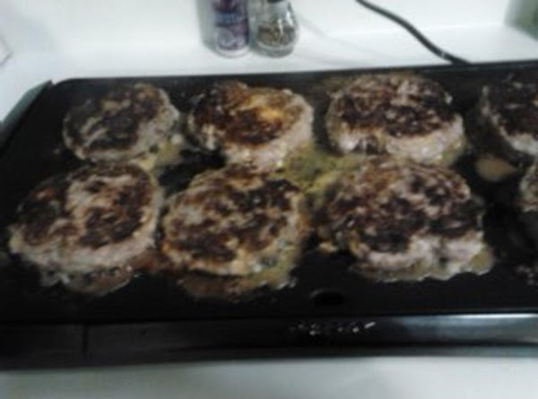 grill some sweet onions until golden brown, split your rolls and grill.