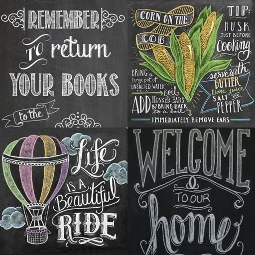 Blackboard Artwork Ideas