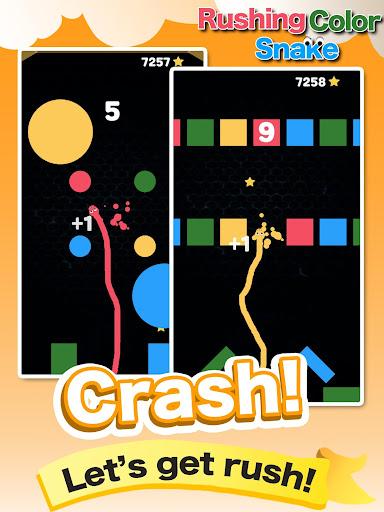 Rushing Color Snake-Super Fun Speed Leisure Games screenshot 7