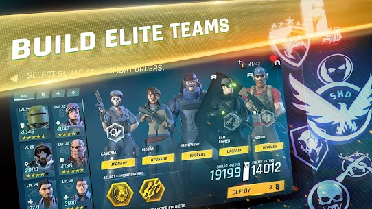 Tom Clancy's Elite Squad Apk Download For Android and Iphone 5