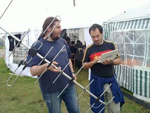 Photo: Austrian guys faking work