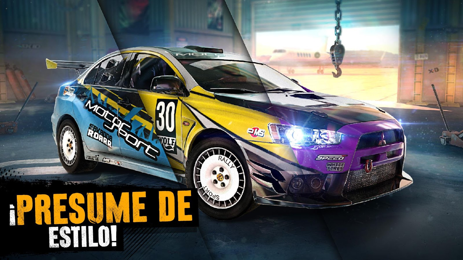 Asphalt Xtreme: Rally Racing: captura de pantalla
