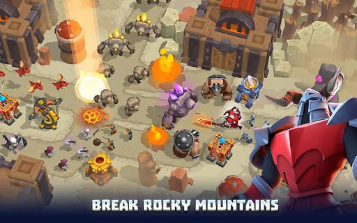 Wild Sky TD: Tower Defense Legends in Sky Kingdom filehippodl screenshot 5