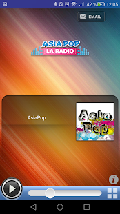 AsiaPop la radio- screenshot thumbnail