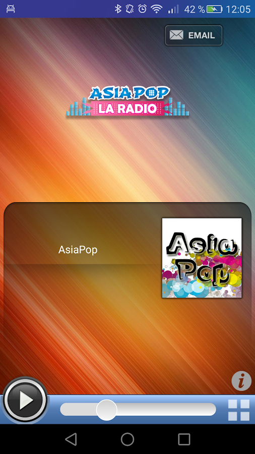 AsiaPop la radio- screenshot