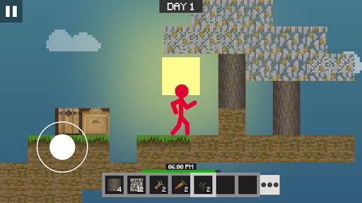 Stickman vs Multicraft: Skyblock Craft apkdebit screenshots 6