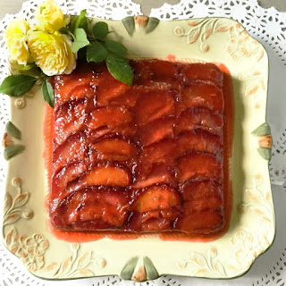 Italian Plum Torte with Tantalizing Plum Glaze A Purely Magical Dessert