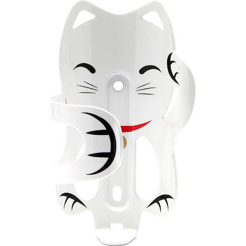 Portland Design Works Lucky Cat White Water Bottle Cage