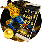 Golden Luxury Football Theme Icon