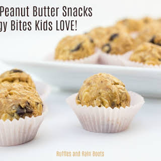 Healthy Peanut Butter Snack Balls.