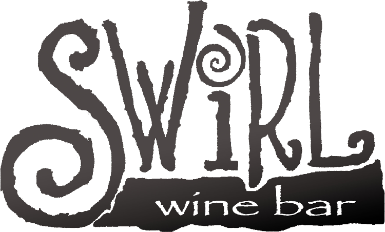 Logo for Whiskey Wednesday's and Wednesday Trivia @ Swirl Wine Bar
