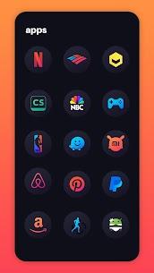 Hera Dark Icon Pack – Circle Shaped Dark Icons (MOD, Paid) v2.5 5