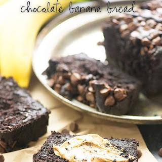 Double Chocolate Banana Bread.