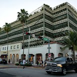 cool parking deck near Ocean Drive in Miami, Florida, United States