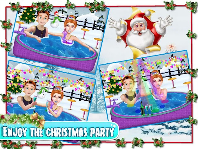 android Christmas Girlfriend Spa Screenshot 3