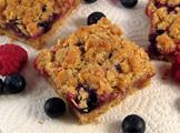 Mixed Fruit Jubilee Crumble Pie Bars Recipe