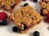Mixed Fruit Jubilee Crumble Pie Bars