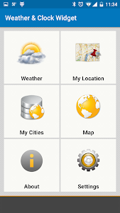 Weather & Clock Widget Ad Free v3.9.0.2
