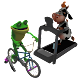 Arcade Fitness for Indoor Cycling or Treadmill Run Android apk