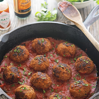 Bloody Mary Meatballs