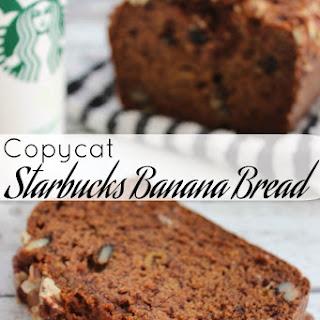 Starbucks Banana Bread Copycat