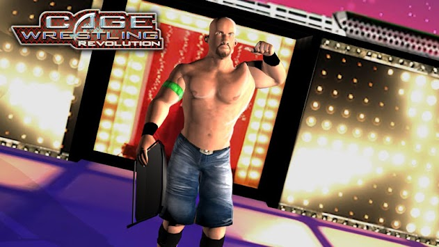 WRESTLING CAGE REVOLUTION : WRESTLING GAMES 2K18 apk screenshot