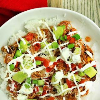 Enchilada Verde Burrito Bowls.