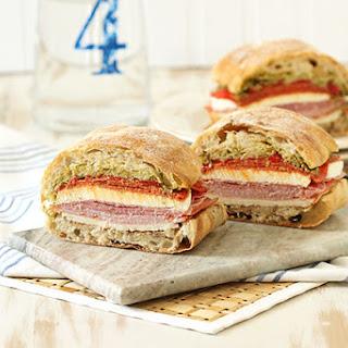 Italian Pressed Picnic Sandwich.