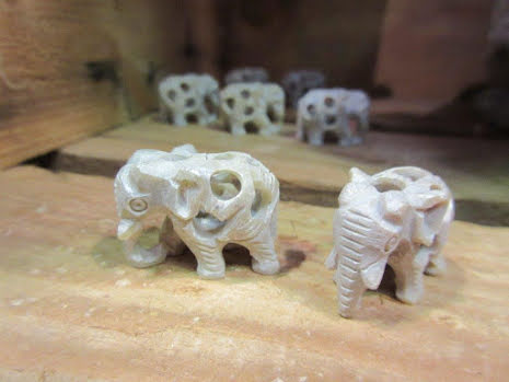 Carved Elephants