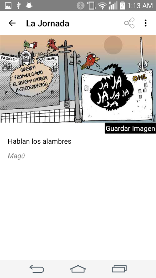 La Jornada- screenshot