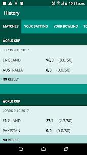 Cricket Scorer 4
