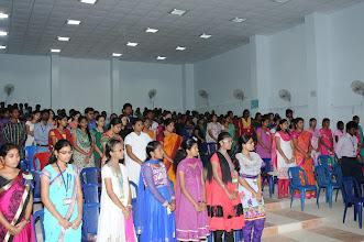 Photo: Delegates during Prayer Song