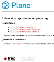 Photo: Plone repository