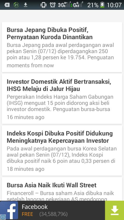 Berita saham dan forex