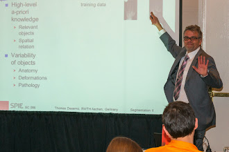 Photo: Thomas Deserno, SPIE Medical Imaging 2014