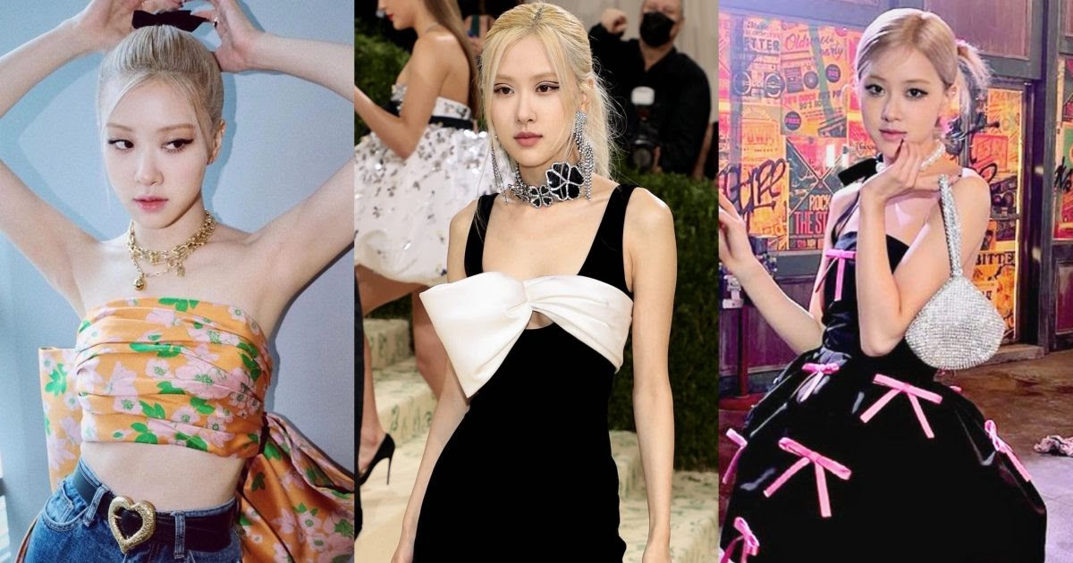 10+ Times BLACKPINK's Rosé Incorporated Bows And Ribbons In Her Style In The Cutest Ways