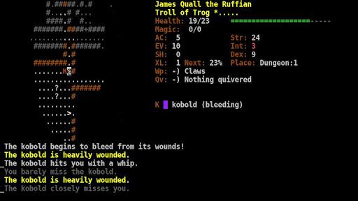 Dungeon Crawl:SS (ASCII)  screenshots 1